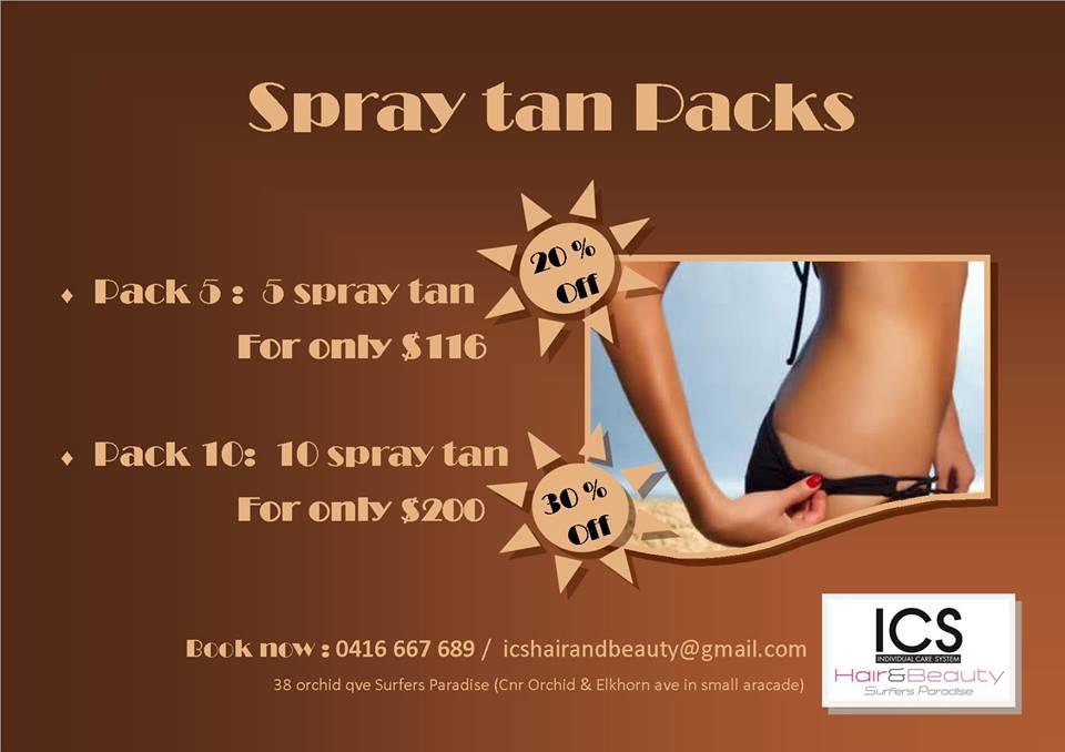 Cheap Spray tan