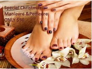 Special Manicure & Pedicure
